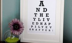 Appreciating The Eye Chart