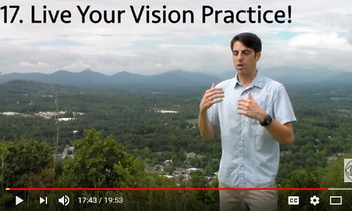 Beginner Morning and Evening Vision Improvement Routine
